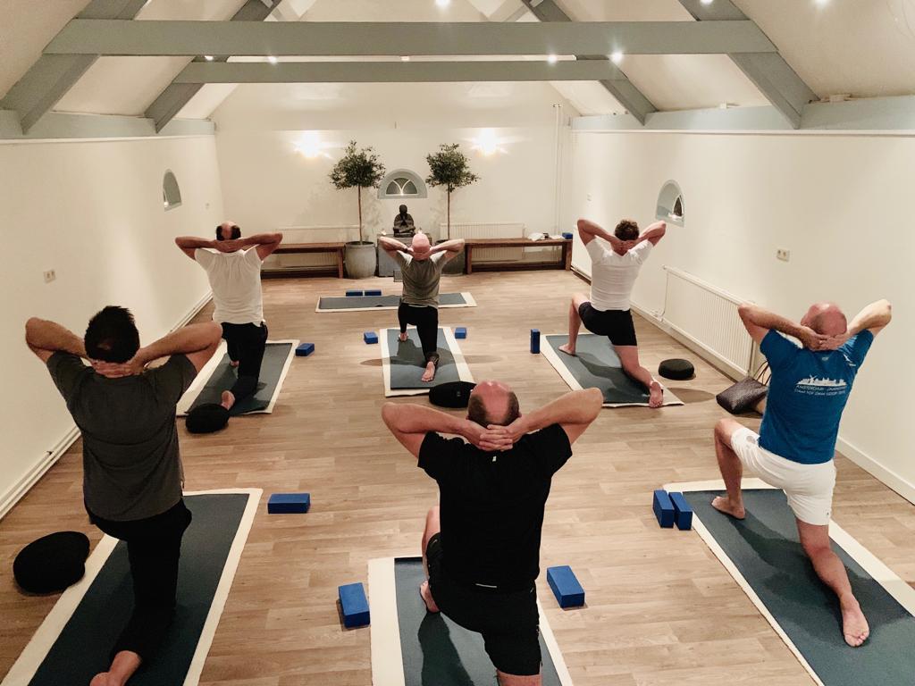 Nieuw: Yoga voor mannen